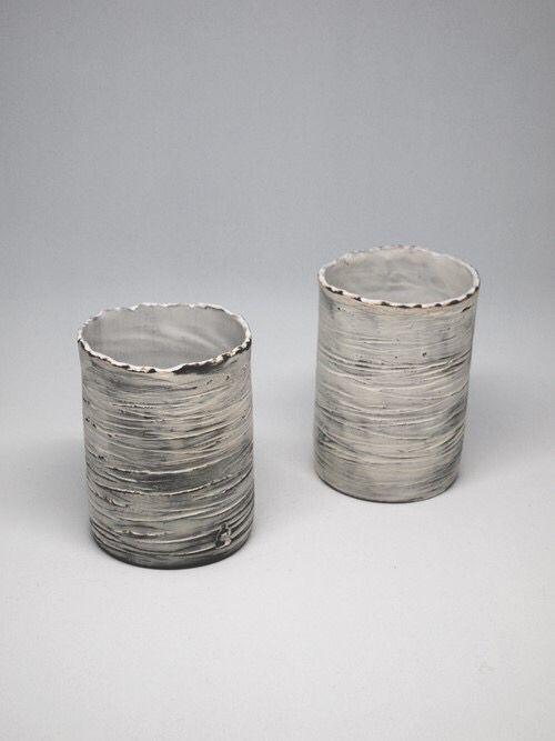 Paul Avril  atelier shop PAUL AVRIL Ceramic Birch Cup Poterie Pottery