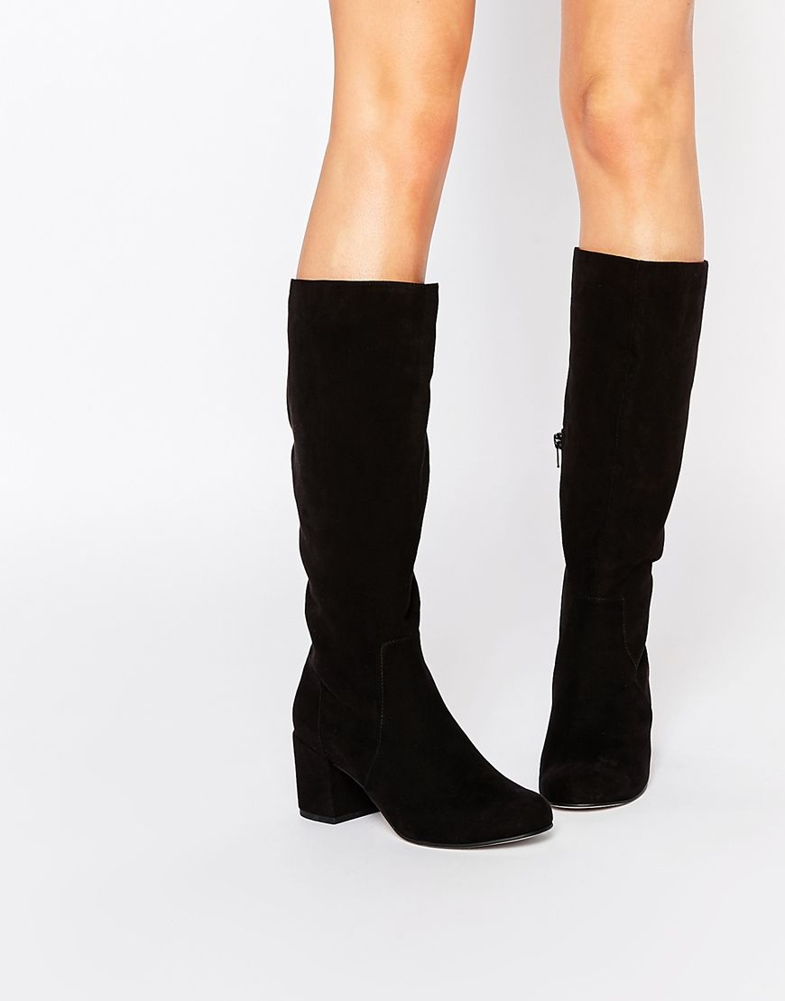 139dd362c18 CATCHY 60 s Knee High Boots
