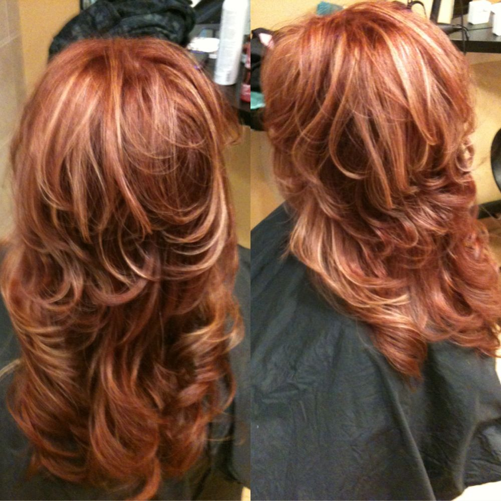 60 Best Strawberry Blonde Hair Ideas to Astonish Everyone ... |Red Brown Hair Color With Blonde Highlights