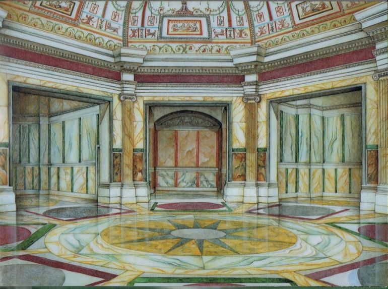 Golden House Of Rome History And Reconstruction Ancient Roman Architecture Ancient Roman Houses Roman House