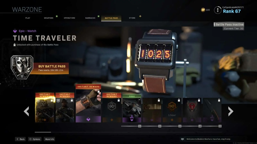 Call Of Duty Warzone Battle Pass Guide Downsights In 2020 Call Of Duty Battle Basic Mechanics