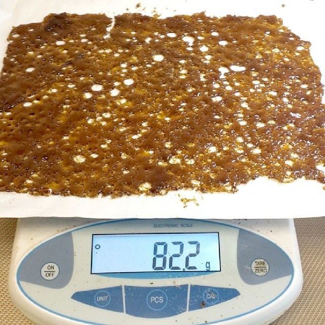 Instafire: Northwest Oils Fat BHO Slab | You guys loved the errl porn so much last time, I thought I would share some more. SLAB!! 75 was pretty dope, but how about 82 grams of killer BHO shatter.