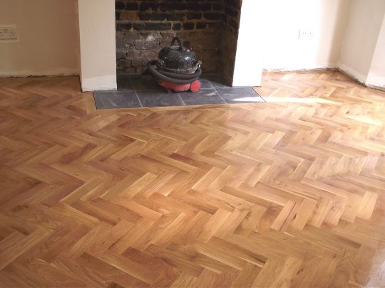 FlooringFirst! Gallery - Some of Our Sanding  Fitting Floor Works - Parkett In Der Küche