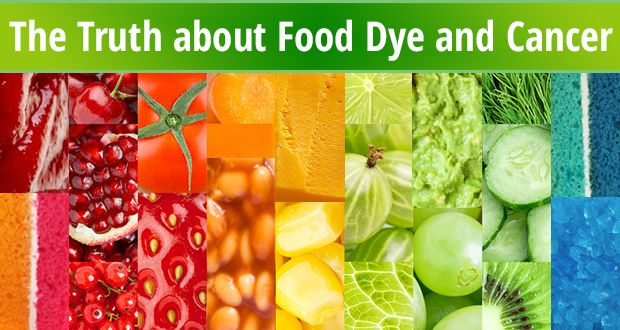 The Truth about Food Dye and Cancer | Harmful | Cancer, Cancer ...