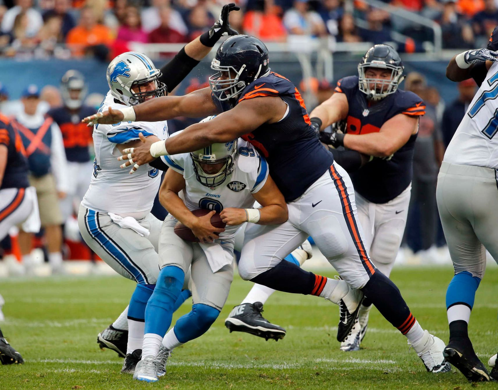 Hoyer Leads Bears Past Lions In 2020 Nfl Week 4 Nfl Football Games Chicago Bears