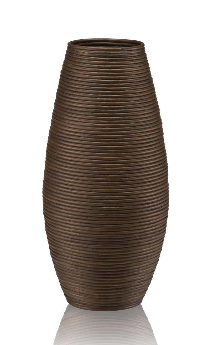 Galang Floor Vase Umbrella Stand 12 Dia X 25 H Rattuminum Drip Bowl Insertclean With A Dry Clothmade In Indonesia