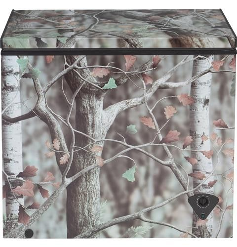 7 0 Cu Ft Camouflage Chest Freezer Chest Freezer Cool Things To Buy Camouflage