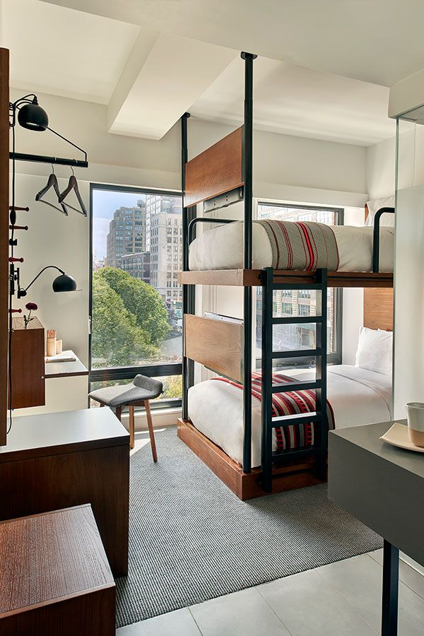 Hotel Room Design: Bedroom Hotel, Hostel Room