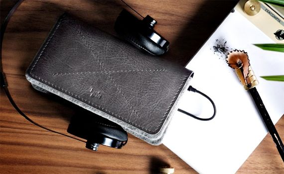 Phone Fold Wallet (all grey) — Designed by and available from Hard Graft. €75 http://www.hardgraft.com/products/phonefoldwallet-allgrey