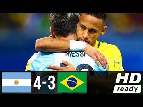 Fun Video Messi Vs Neymar Argentina Vs Brazil   Hd