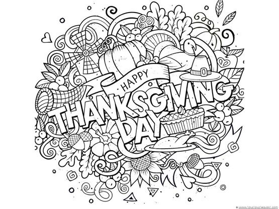 Thanksgiving Coloring Pages For Adults Video Photos