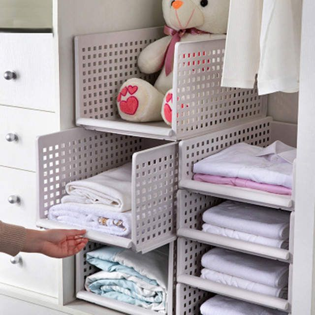 Detachable Drawer Type Clothes Storage Box Bedroom Cabinet