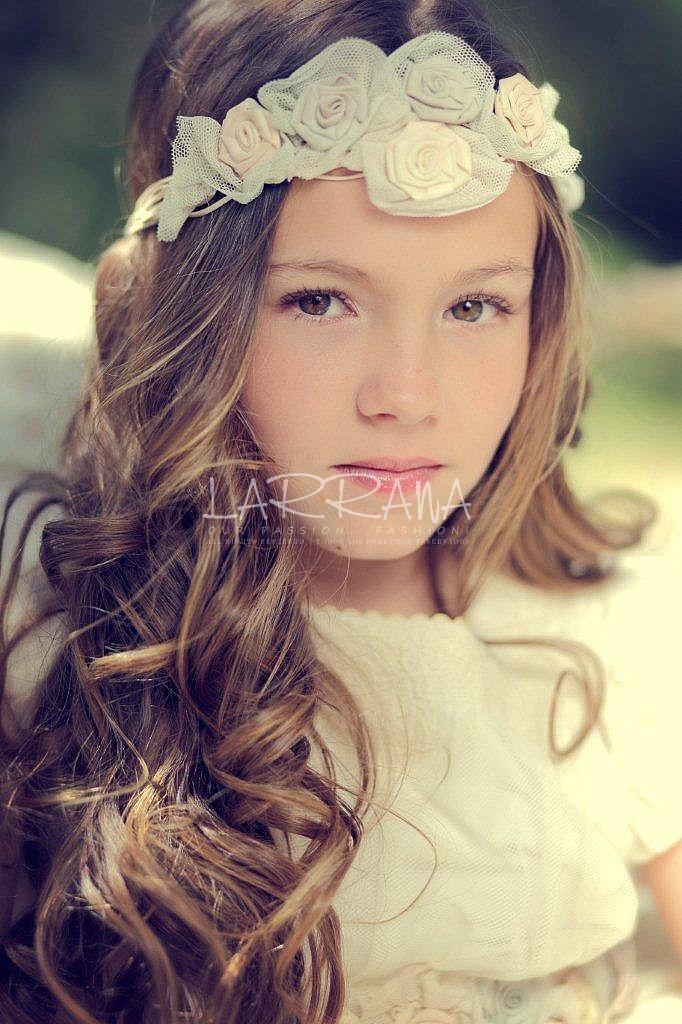Formas modernas de peinados sencillos para comunion Fotos de estilo de color de pelo - COMUNIÓN - LARRANA | Official Website | Peinados primera ...
