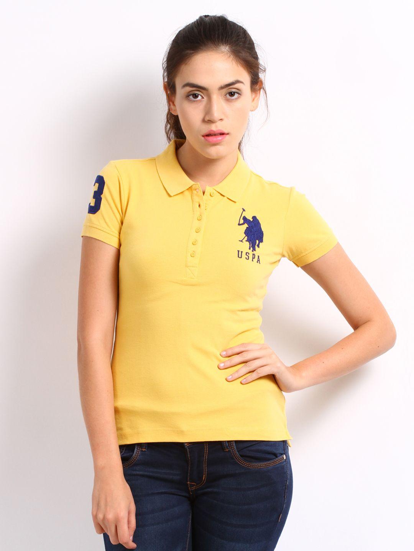 Womens Cotton Polo Shirts