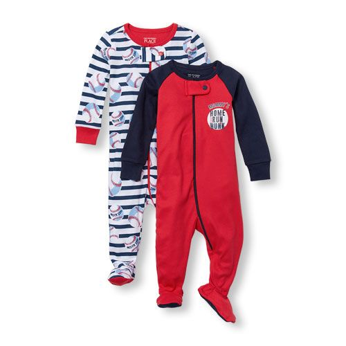 2d7fcb757 Baby And Toddler Boys Long Sleeve  Mommy s Home Run Hunk  And ...
