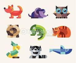 geometric animal design - Buscar con Google