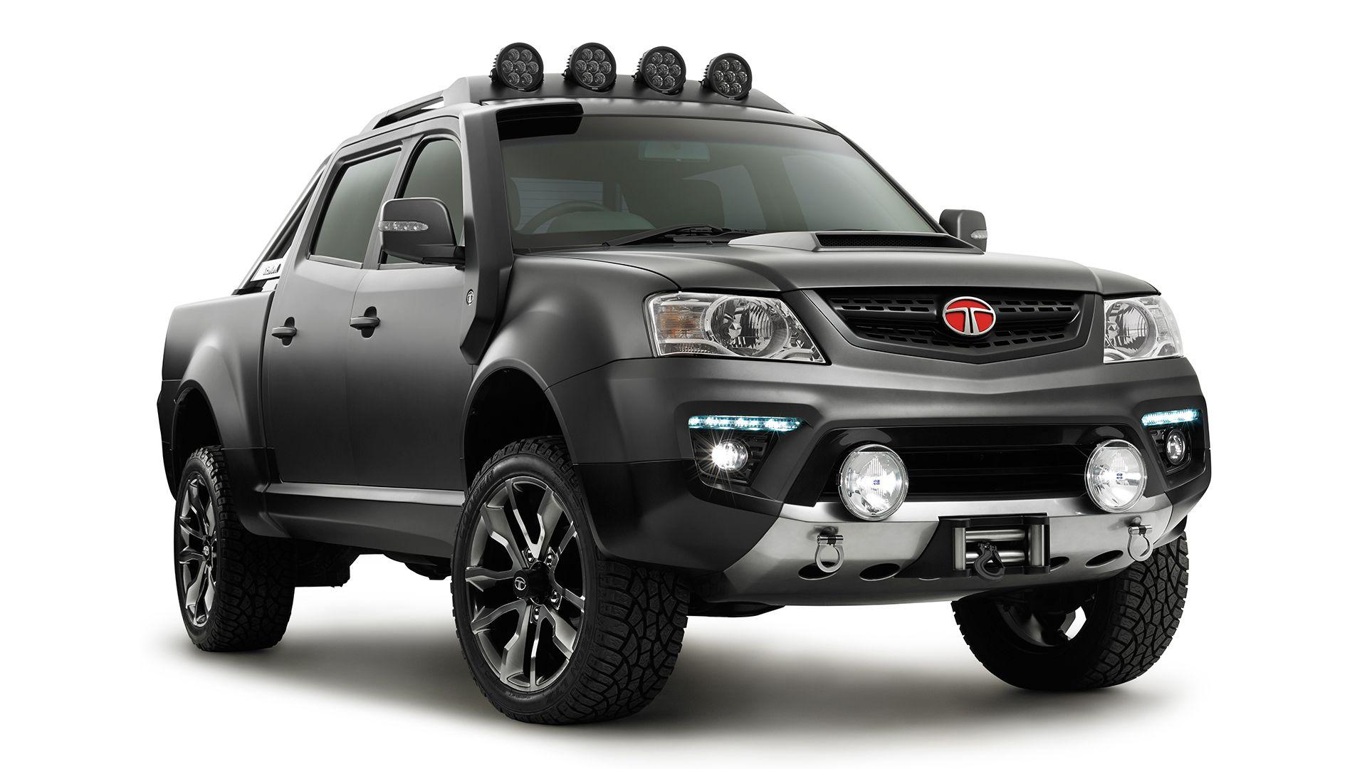 Tata xenon XT tough truck concept Tata motors, Tata cars