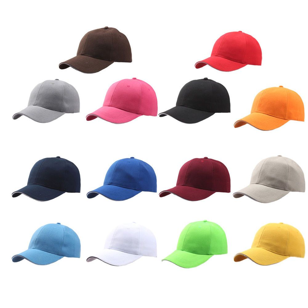 45a0a2c2b8c Men Women New Black Baseball Cap Snapback Hat Hip-Hop Adjustable Bboy Caps  up