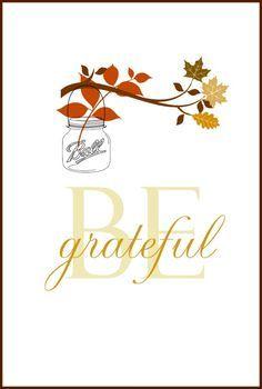 10 free fall printables grateful free printable and thanksgiving 10 free fall printables m4hsunfo