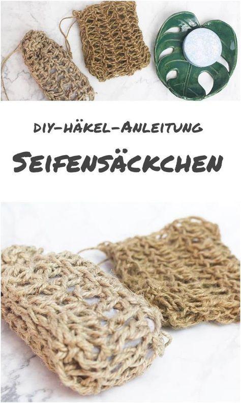 {DIY} Seifensäckchen selber häkeln - BANANENMARMELADE