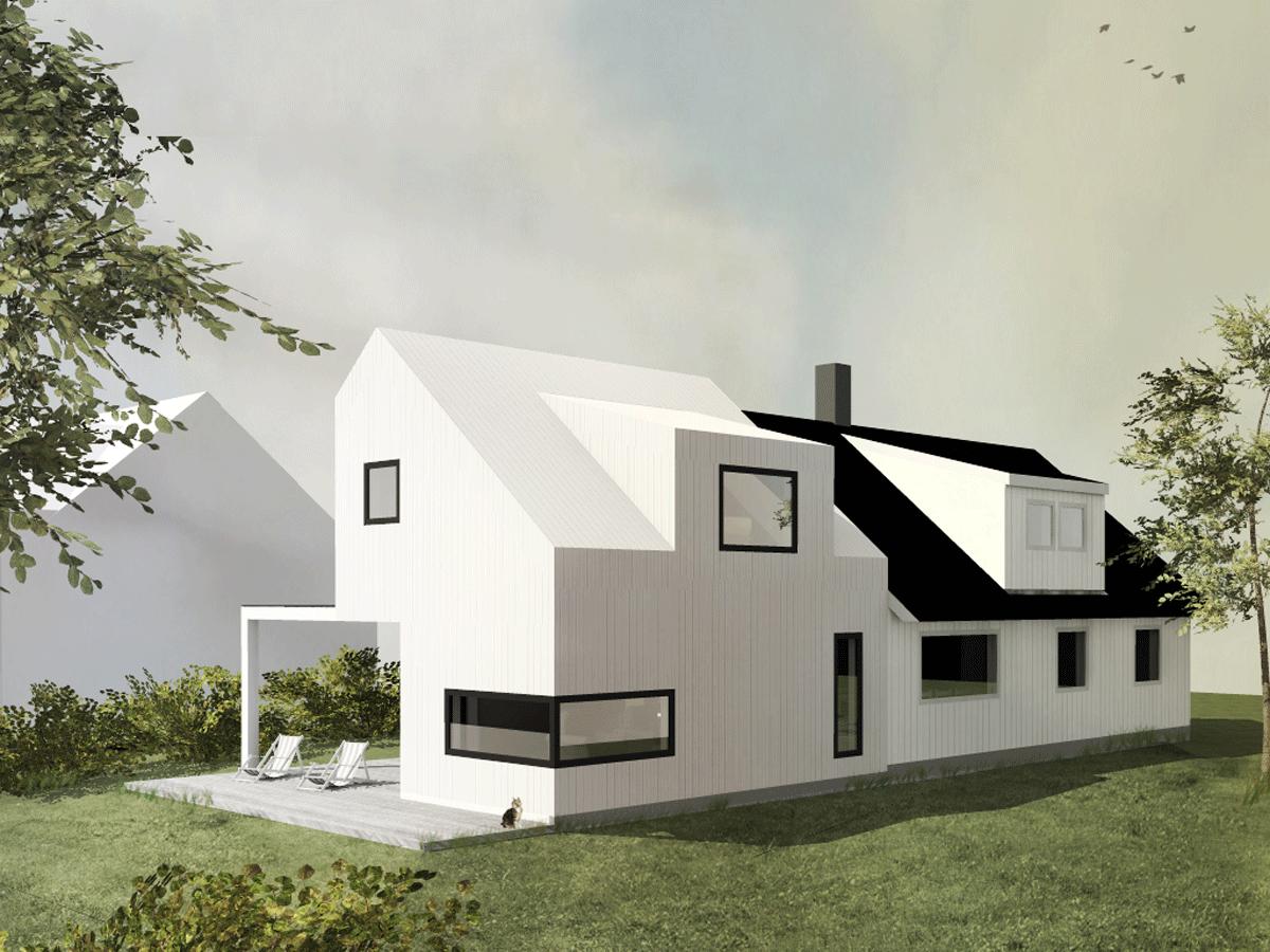 Extension Mobili ~ Gamle hus med moderne tilbygg google søk house extension