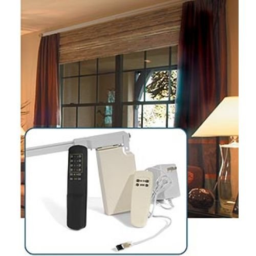 201 Remote Control Electric Power Traverse Curtain Rod Cl200t5m