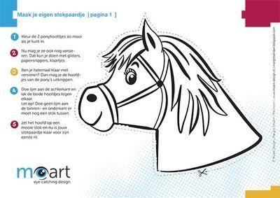 bekijk de foto nienkej met als titel stokpaard maken
