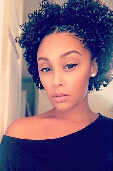 Pinterest Naemelanin Curly Hair Styles Natural Hair Styles Short Natural Hair Styles