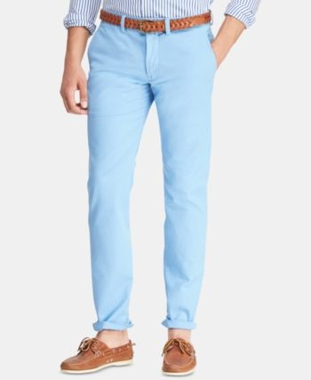 e5ed1e948b Polo Ralph Lauren Men Straight-Fit Bedford Stretch Chino Pants in ...