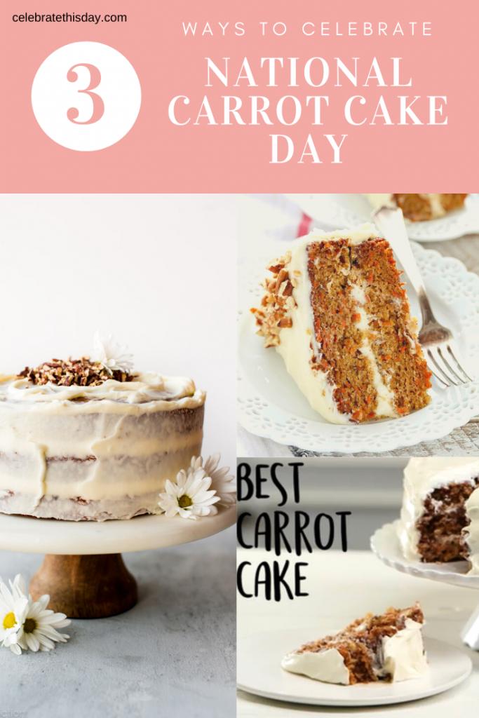National Carrot Cake Day in 2020 Best carrot cake, Cake