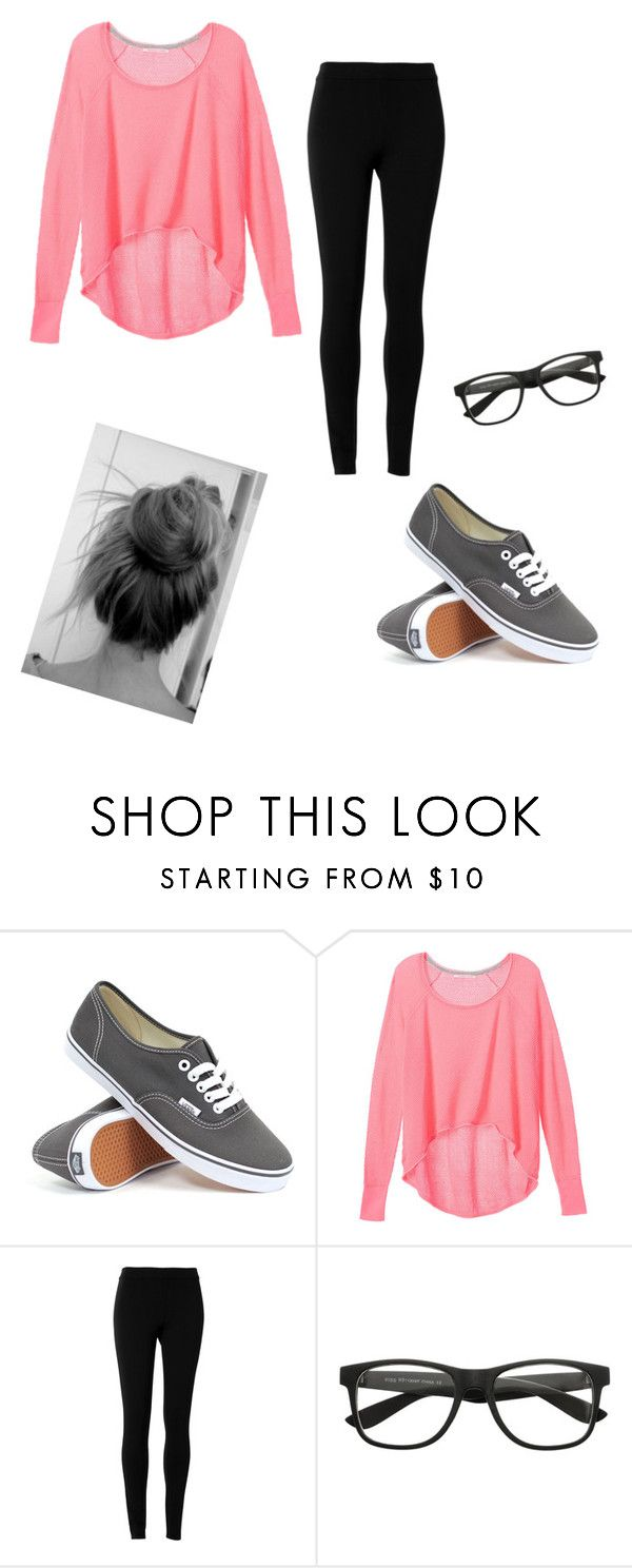 """""""Another School Outfit"""" by theveronicalee ❤ liked on Polyvore featuring Vans, Victoria's Secret and Max Studio"""
