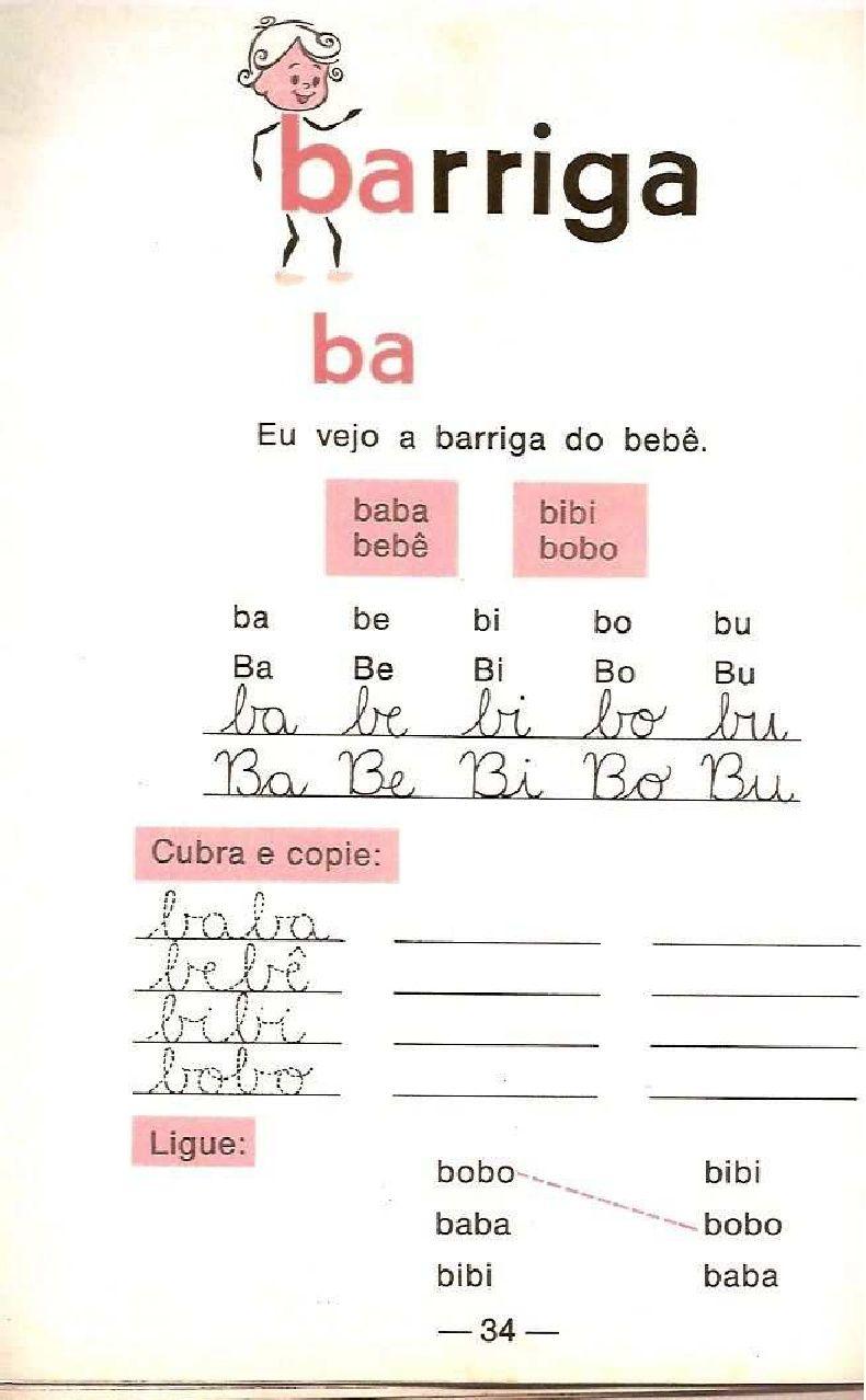 Cartilha De Alfabetizacao Infantil Caminho Suave Com Imagens