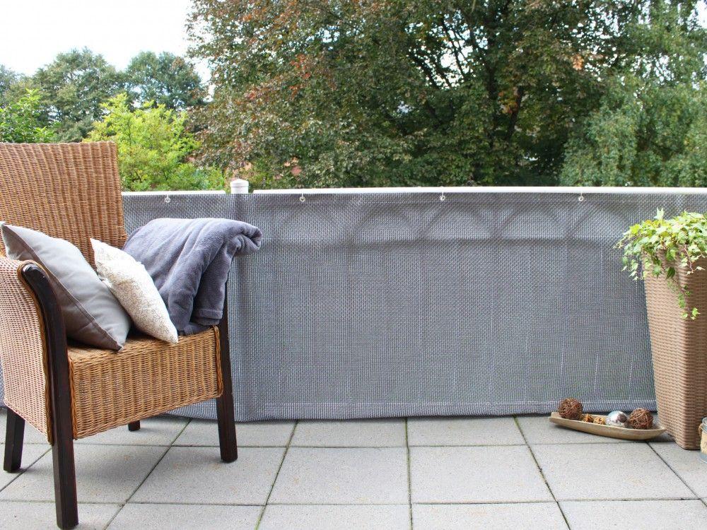 Balkonverkleidung Kunststoffgeflecht Balkonverkleidung