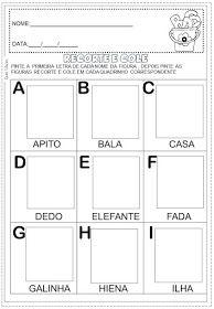 Dani Educar : Album de figurinhas Alfabeto | Alfabeto | Pinterest