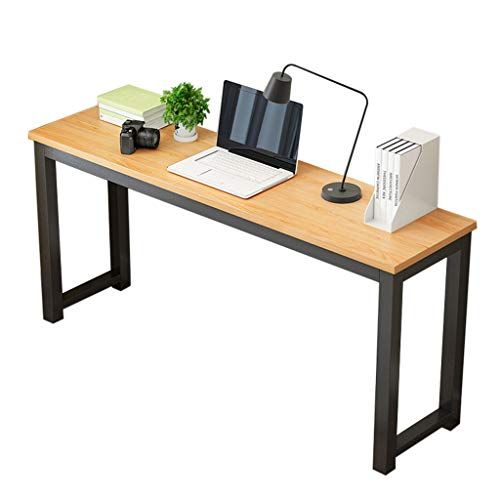 Accuyc Industrial Computer Writing Desk Wood And Metal Writing Desk Office Comput Computer Desks For Home Home Office Furniture Desk Home Office Computer Desk