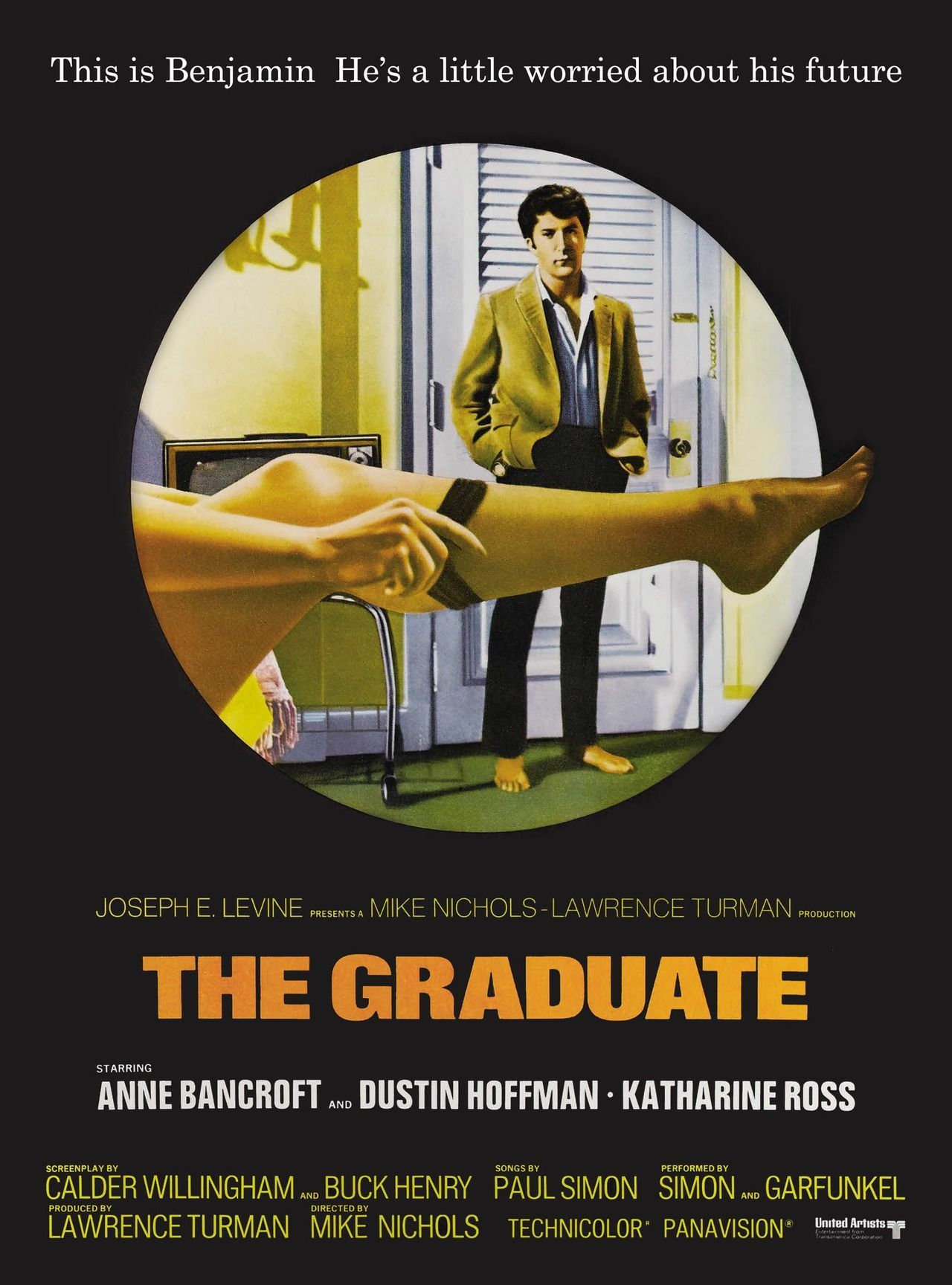 The GraduateLARGE 24X36 MOVIE POSTER Premium Poster Paper