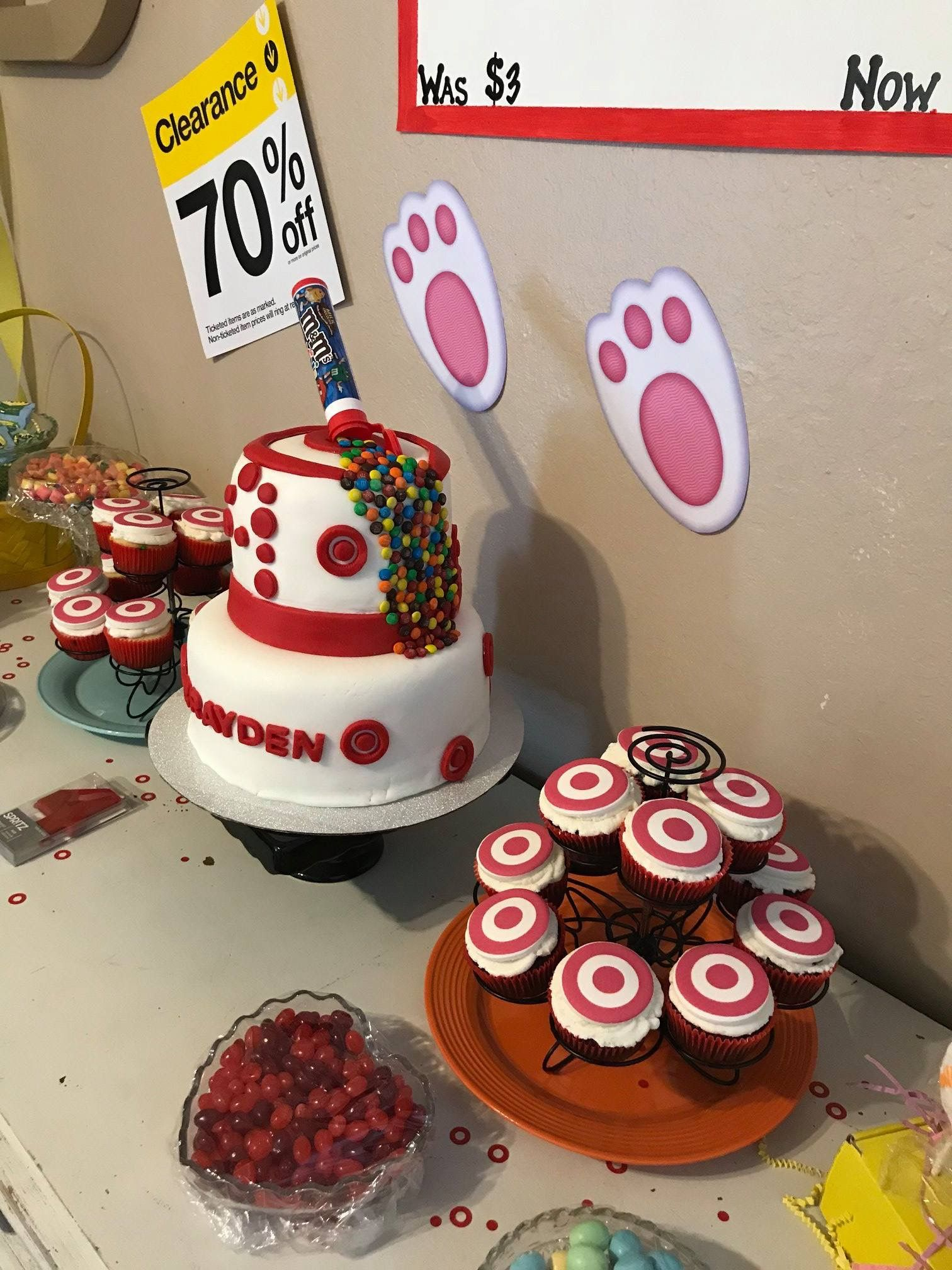Pin by heidi welker on BRAYDEN TARGET THEMED PARTY