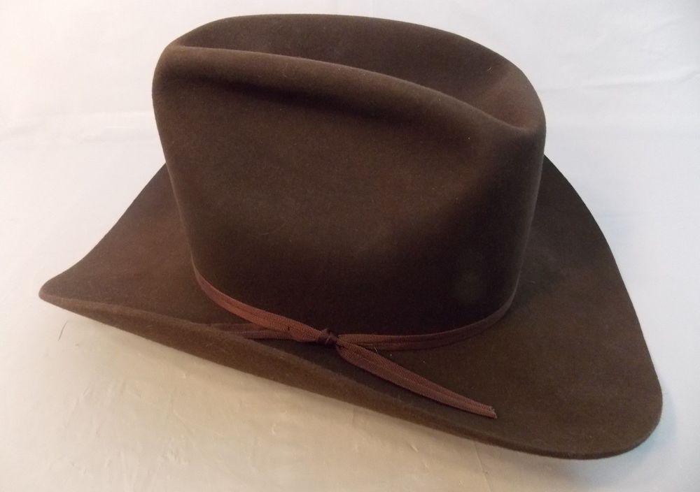099906fa65c88 Sorrel Big Bend Western Cowboy Hat 6 7 8 Miller Bros Brown  Sorrel   CowboyHat