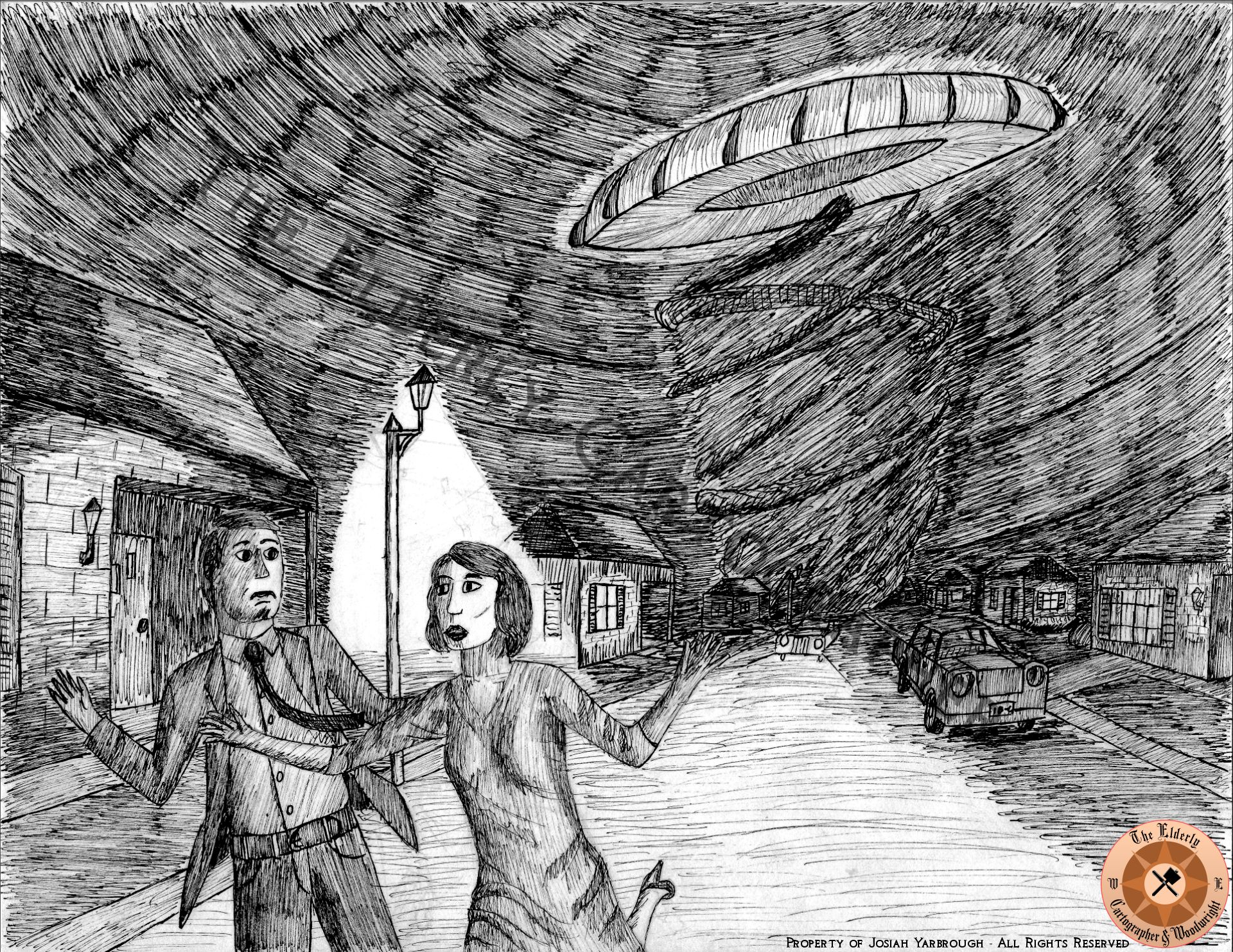 Attack of the Vortexian Saucer by EC&W