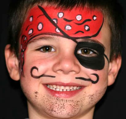 Easy Face Painting Idea Sheet | ... face paints and other ...