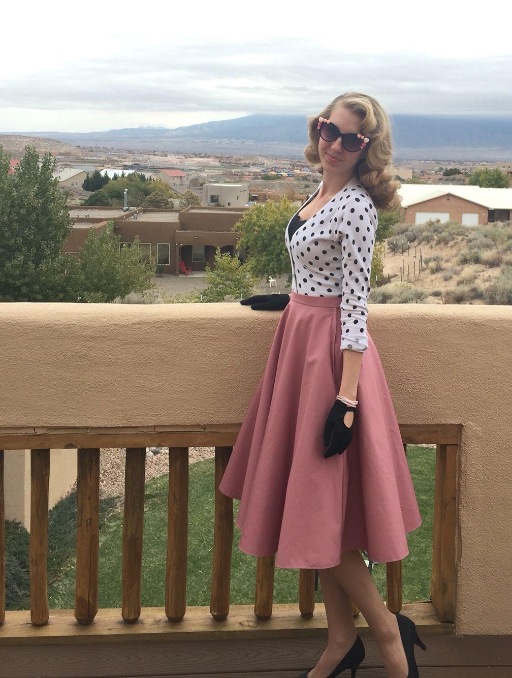 Butterick 5962 - Patterns by Gertie vintage/retro circle skirt Instagram @sewingsiren