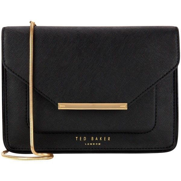 Ted Baker Isla Pat Crosshtach Across Body Bag (100 AUD) ❤ liked on Polyvore featuring bags, handbags, shoulder bags, bolsa, taupe, crossbody handbags, crossbody purse, purse shoulder bag, ted baker purse and handbags crossbody