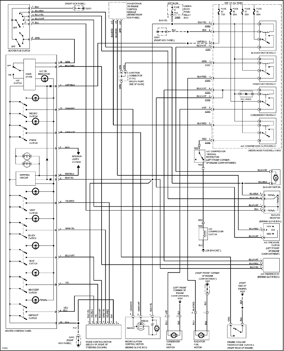 97 Honda Accord Wiring Diagram