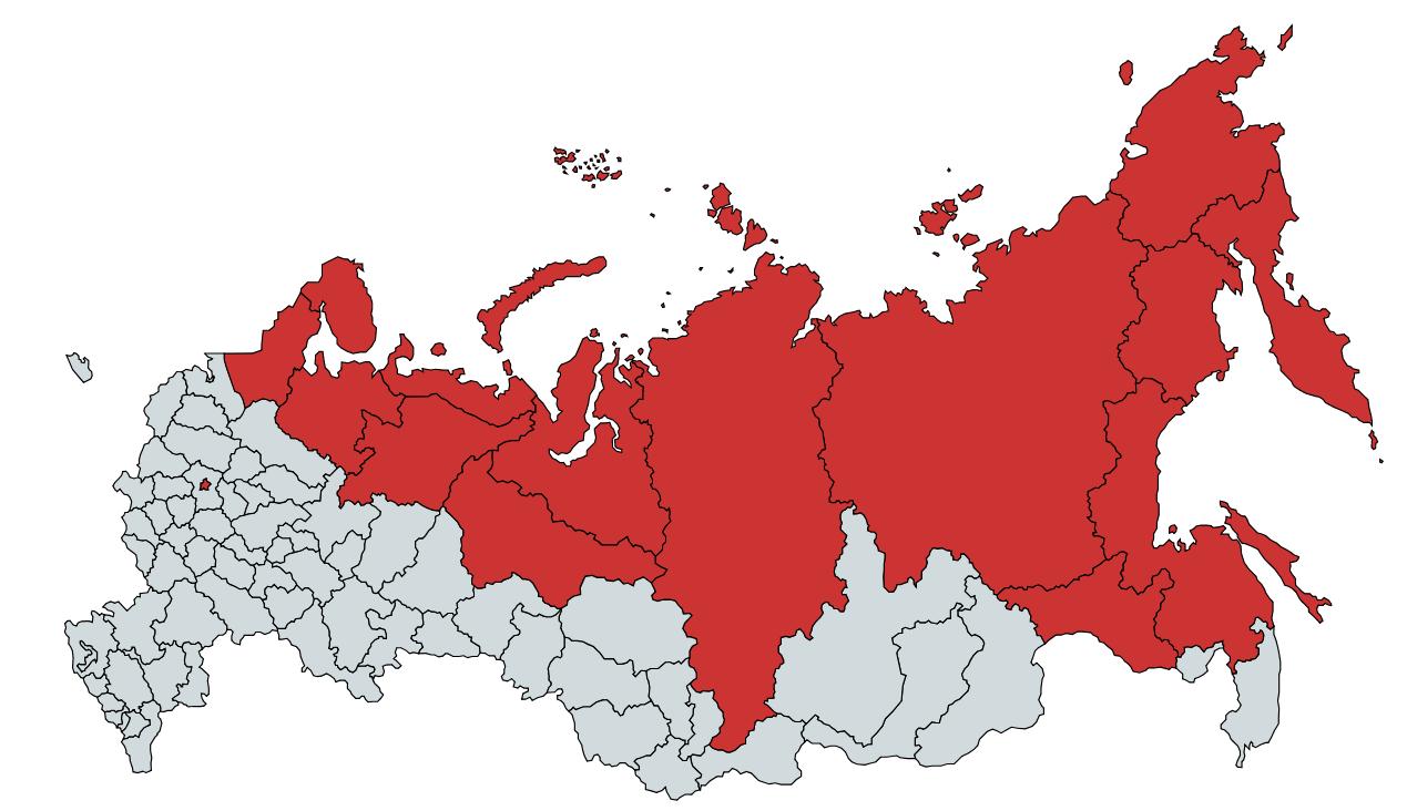 На этой территории проживает столько же жителей, что и в Москве