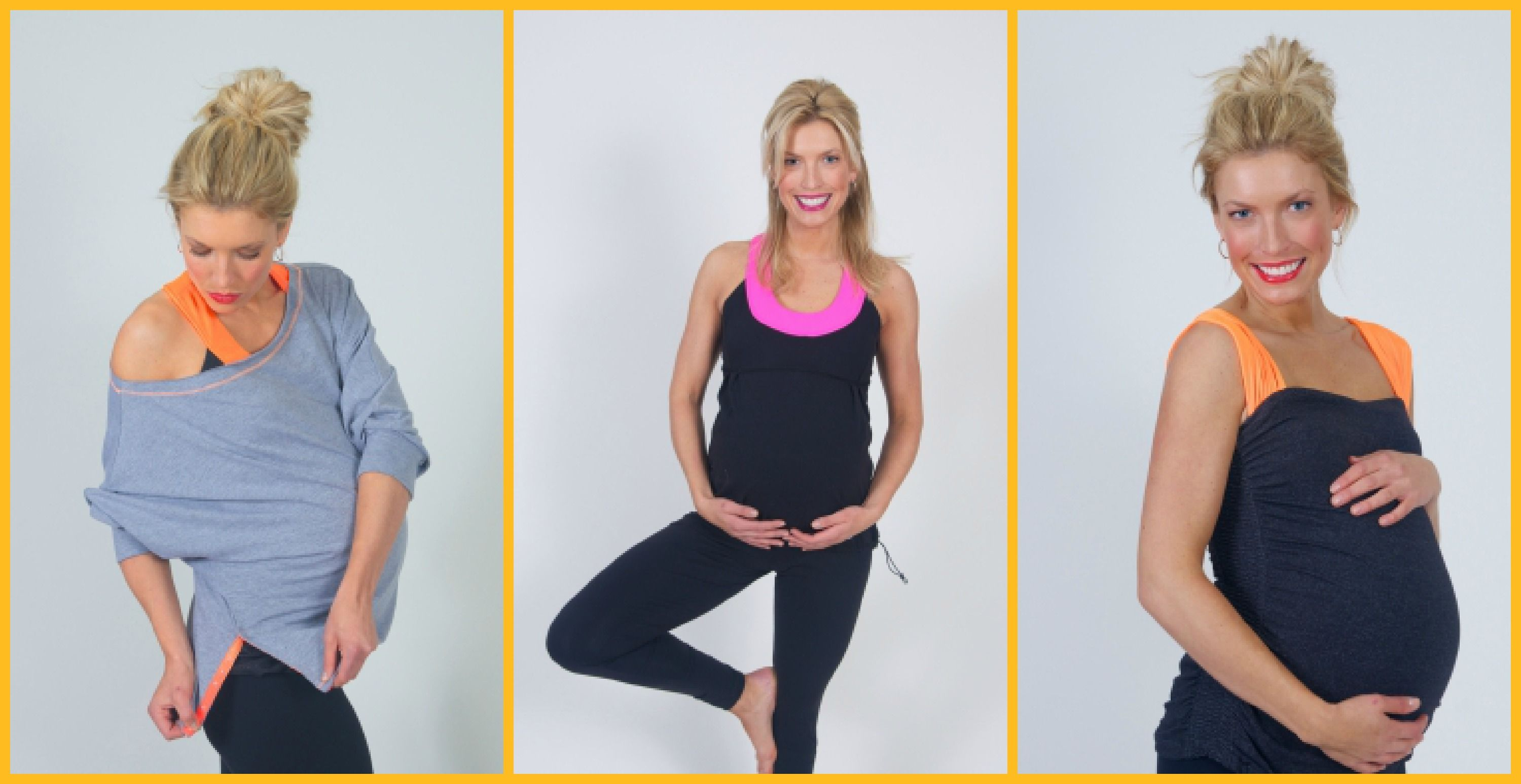 f53c14a83d Look great and feel great in these cute pregnancy workout clothes options