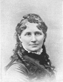 Nellie Blessing Eyster (1836-1922), American journalist, lecturer, reformer