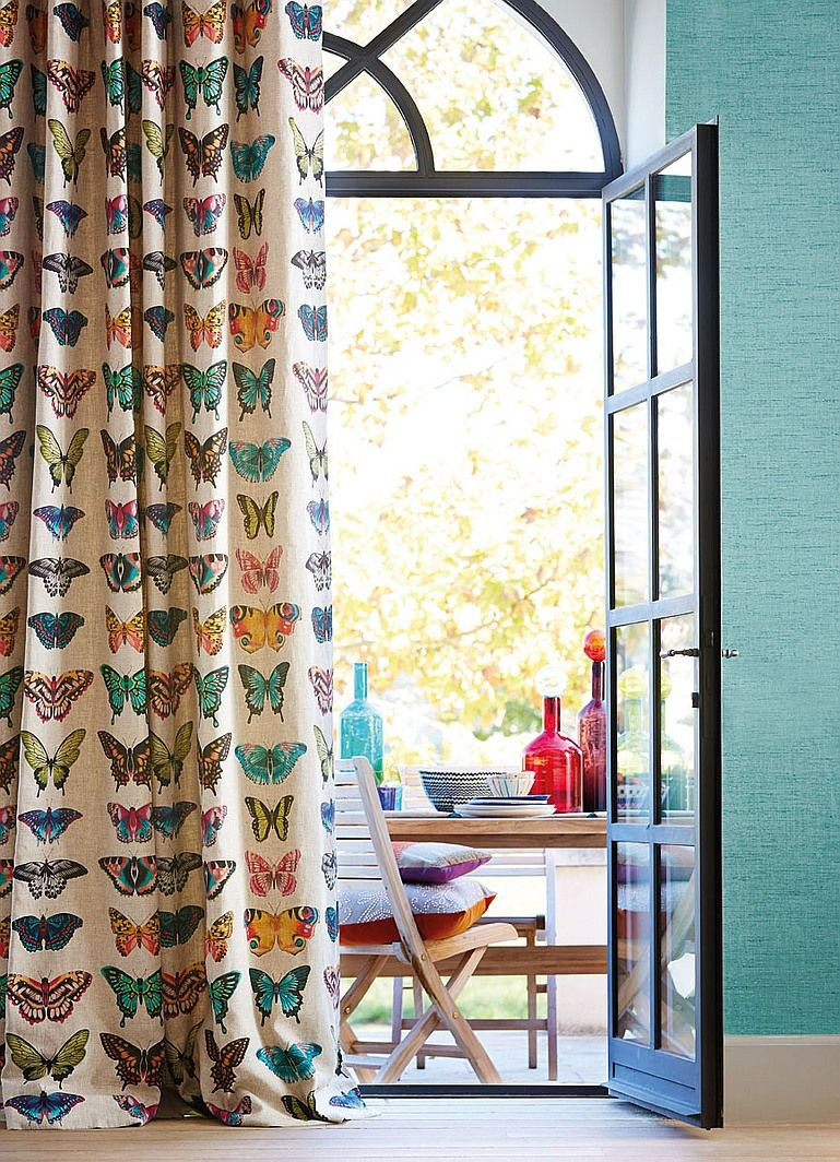 Flora and Fauna Dominate at Deco Off Flora Linens and Window