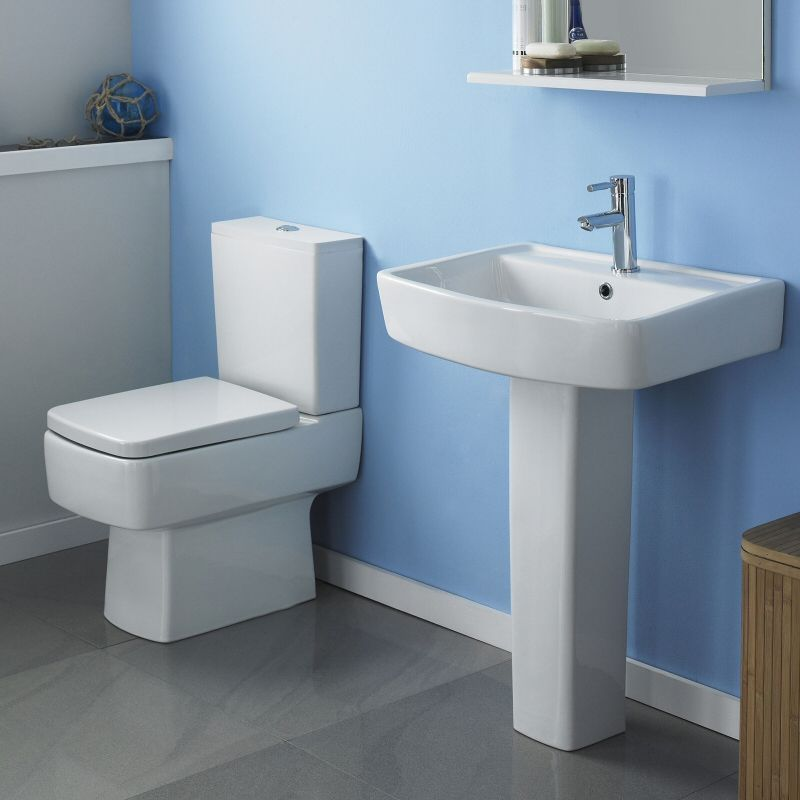 Esq Toilet and Basin Set | Bathroom | Pinterest | Basin and Toilet