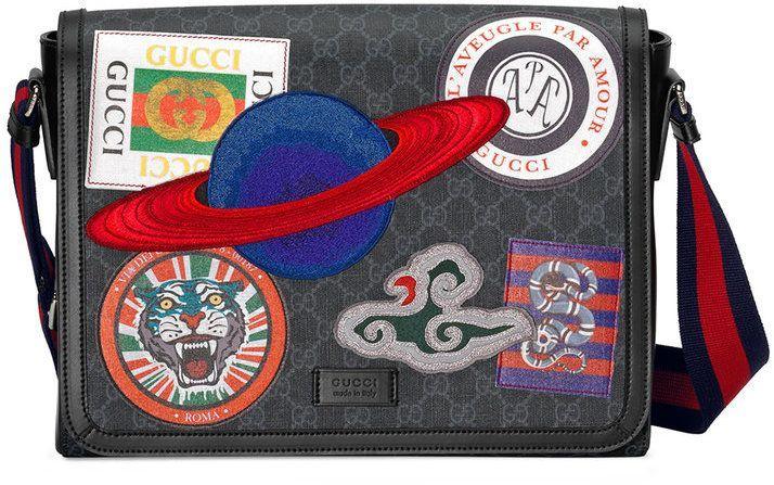 55202987a Gucci Night Courrier GG Supreme flap messenger   Gucci   Canvas ...