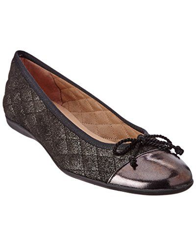 French Sole Women's PassportR Pewter Metallic Nappa/Suede Flat 8.5 M >>>  Check